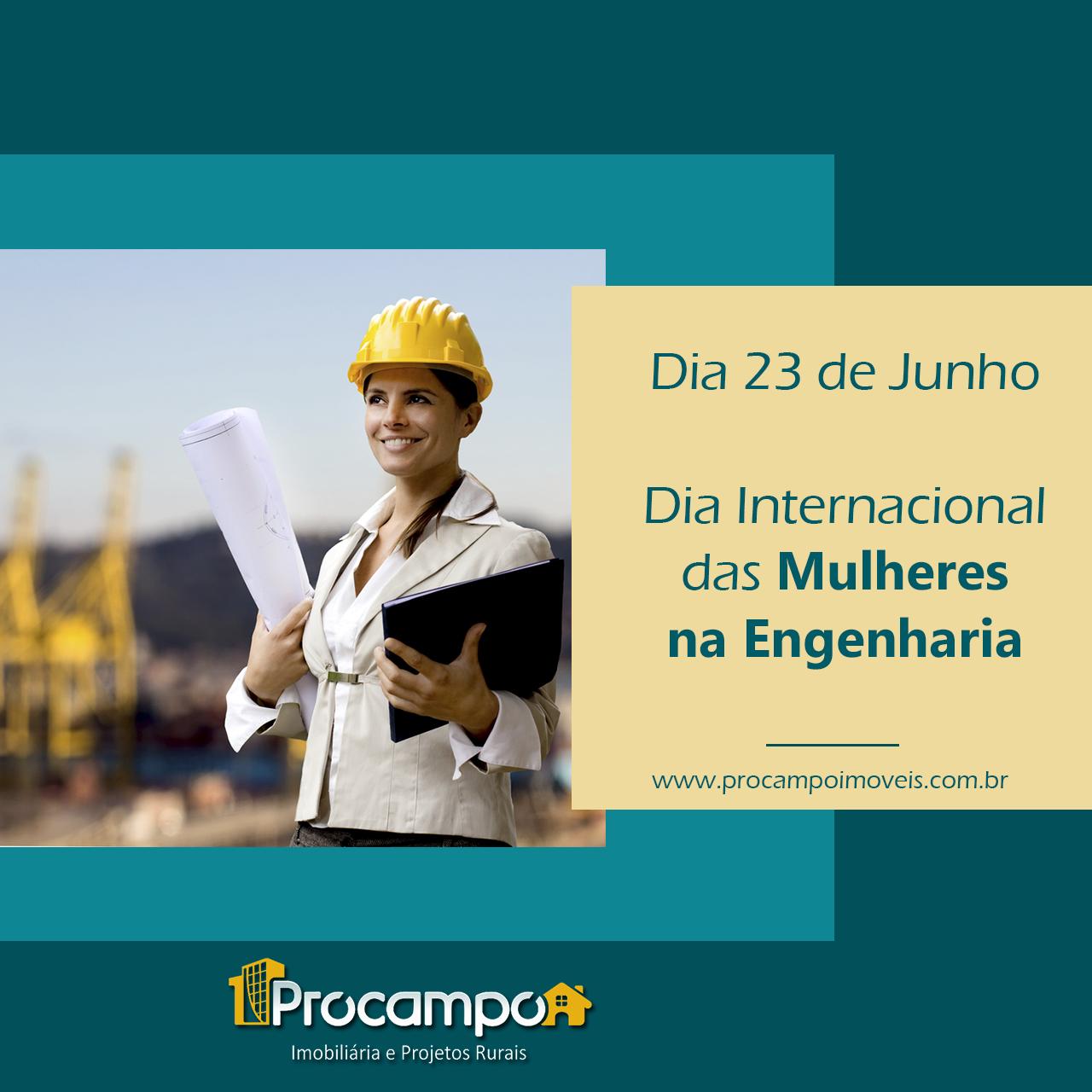 Dia Internacional das Mulheres na Engenharia