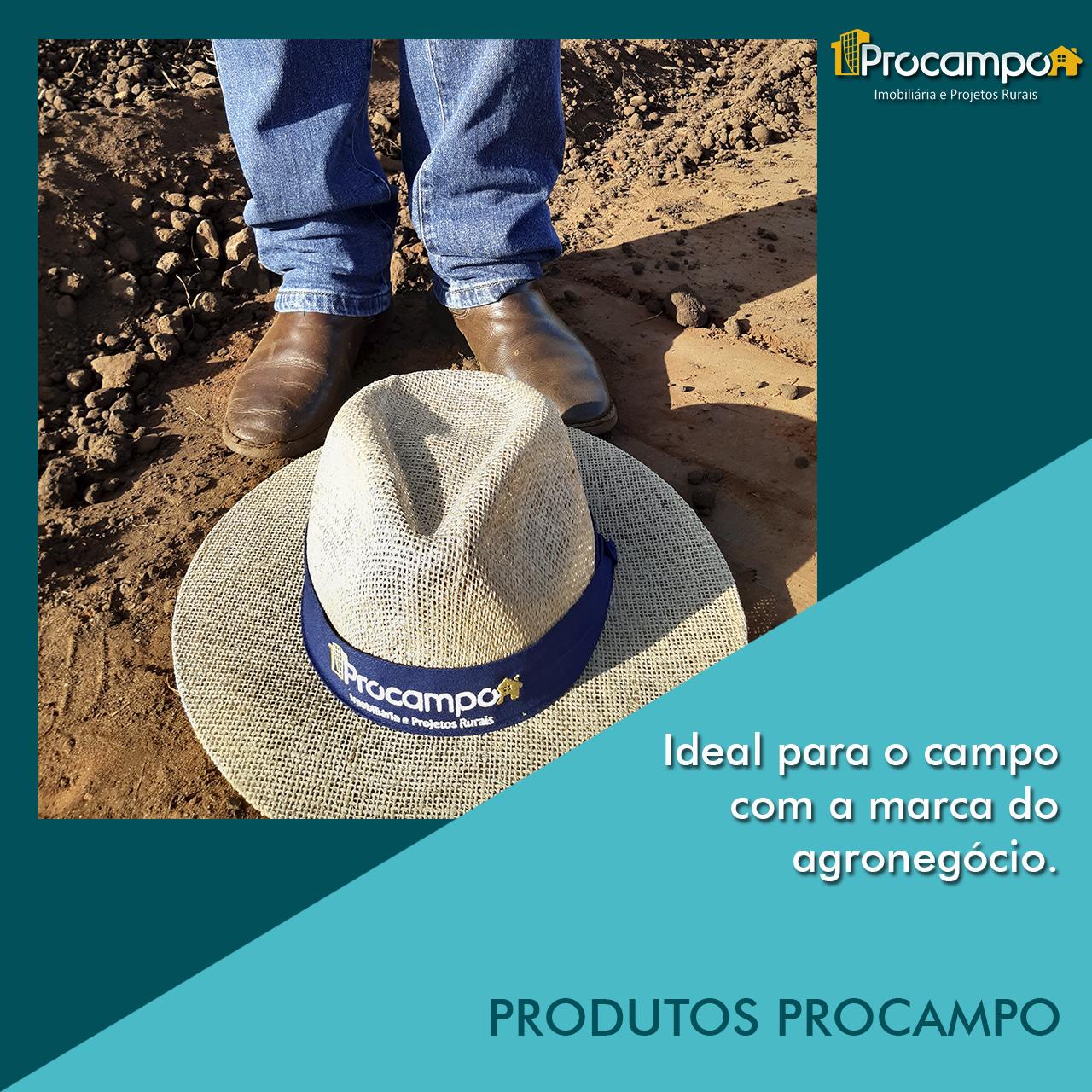 O produto ideal para o campo com a marca do agronegócio.
